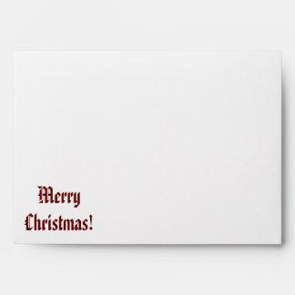 Merry Christmas Envelope! Envelope