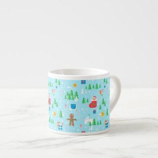 Merry Christmas espresso mug. Espresso Cup
