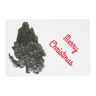 Merry Christmas Evergreen - Placemat