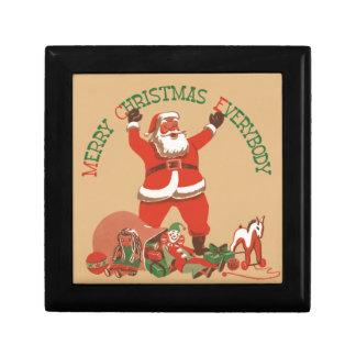 Merry Christmas Everybody Keepsake Box