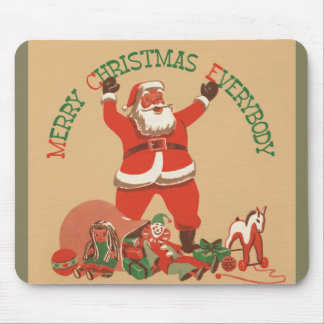 Merry Christmas Everybody Mouse Pad