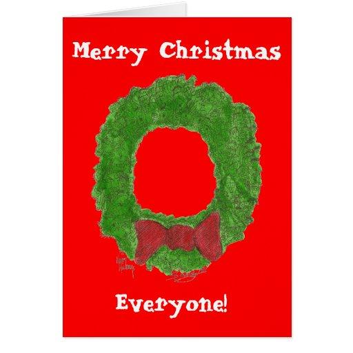 Merry Christmas  Everyone! Card