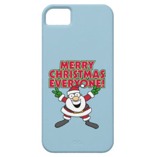 Merry Christmas Everyone iPhone 5 Cases