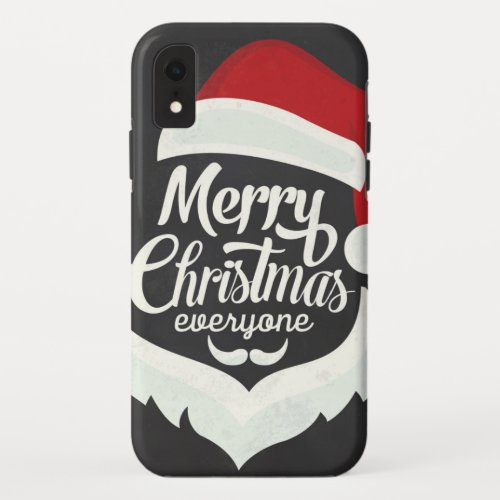 Merry Christmas Everyone iPhone XR Case