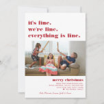 Merry Christmas | Everything is Fine Funny Holiday
