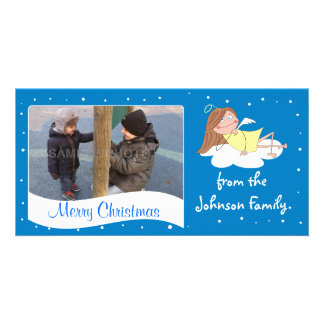 Merry Christmas Family Personalized Photo Card