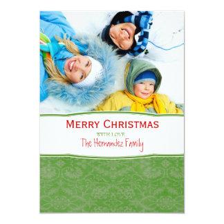 Merry Christmas Family Photo Holiday Card