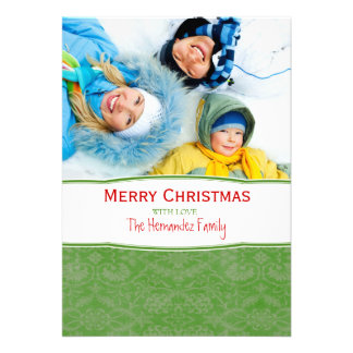 Merry Christmas Family Photo Holiday Card