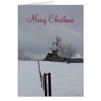 farming christmas cards 2018