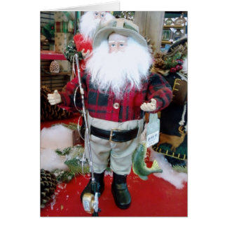 MERRY CHRISTMAS FAV FISHERMAN CARD