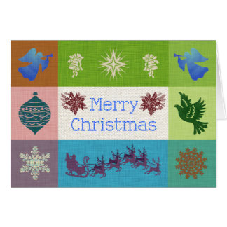 Merry Christmas Favorite Things Collage Card