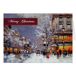 Merry Christmas. Fine Art Christmas Greeting Cards
