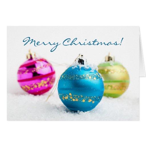 Merry Christmas folded card