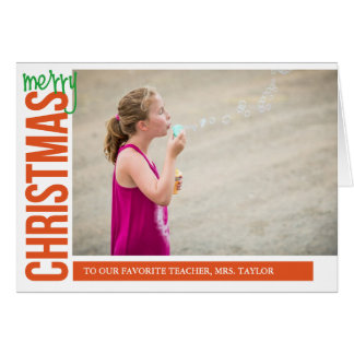 Merry Christmas for you Card