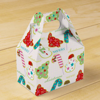Merry Christmas Favor Boxes