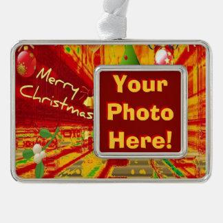 Merry Christmas Framed Ornament