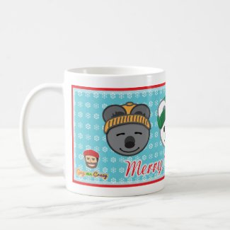 Merry Christmas Friendship Bears Mug