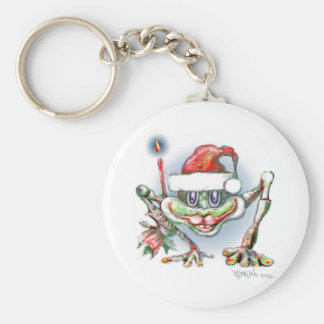* Merry christmas Frog by Albruno * Keychain
