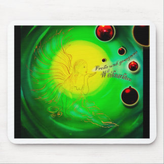 Merry Christmas - Frohe Weihnachten - Christmas, Mouse Pad