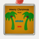 Merry Christmas from Aruba 2012 Christmas Ornament