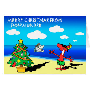 Merry christmas from australia cards greeting photo cards zazzle merry christmas from australia greeting card m4hsunfo