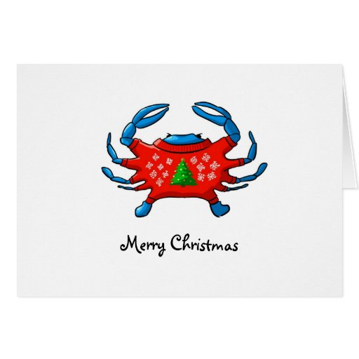 Merry Christmas From Baltimore Greeting Card