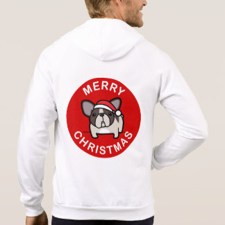 Merry Christmas from Brindle Pied Santa - Red T-shirts