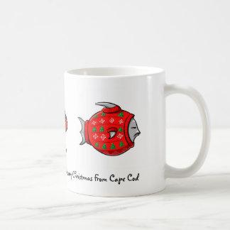 Merry Christmas from Cape Cod Coffee Mug