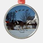 Merry Christmas from Denmark Christmas Tree Ornaments