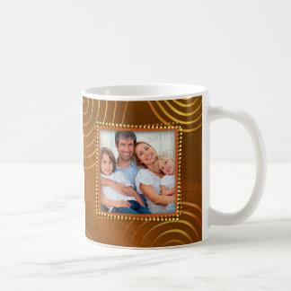 Merry Christmas from Family Customizable Photo Coffee Mug