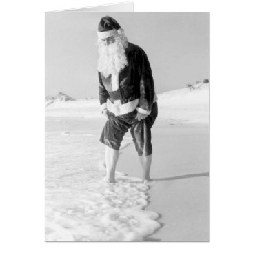 Beach Themed Merry Christmas From Florida Card