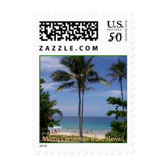 Merry Christmas from Hawaii Postage