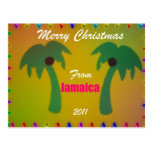 Merry Christmas from Jamaica 2011 Post Cards
