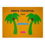 Merry Christmas from Jamaica 2012 Postcard