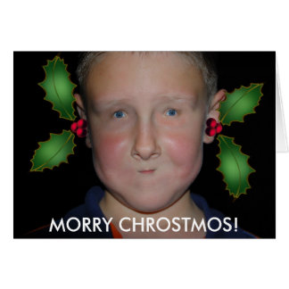Merry Christmas from Jommy Card