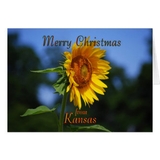 Merry Christmas from Kansas Card