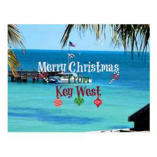 Merry Christmas from Key West Postcard