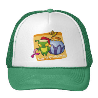 Merry Christmas from Little Bug Trucker Hat