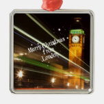 Merry Christmas from London - Big Ben Christmas Tree Ornaments