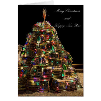 Merry Christmas From Maine Card