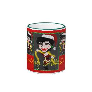 Merry Christmas From Marilyn! Ringer Coffee Mug