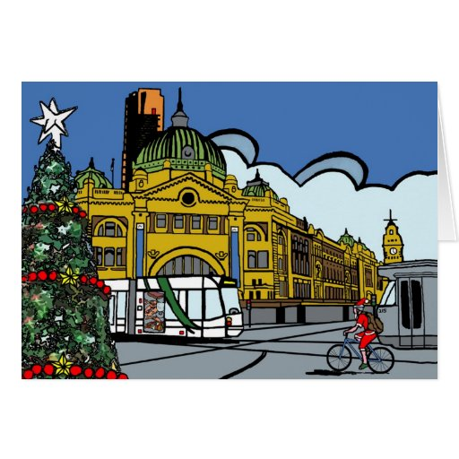 Merry Christmas from Melbourne Greeting Cards
