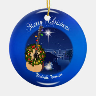 Merry Christmas from Nashville Ornament