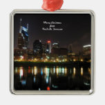 Merry Christmas from Nashville, Tennessee Ornaments