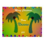 Merry Christmas from Nassau 2011 Postcard