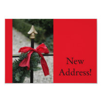 Merry Christmas from New Address Card