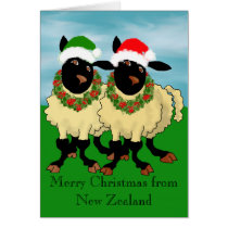 Merry Christmas from New Zealand Card