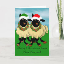 Merry Christmas from New Zealand Holiday Card