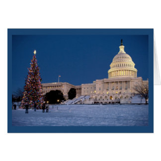 Merry Christmas from Our Country's Capital Card