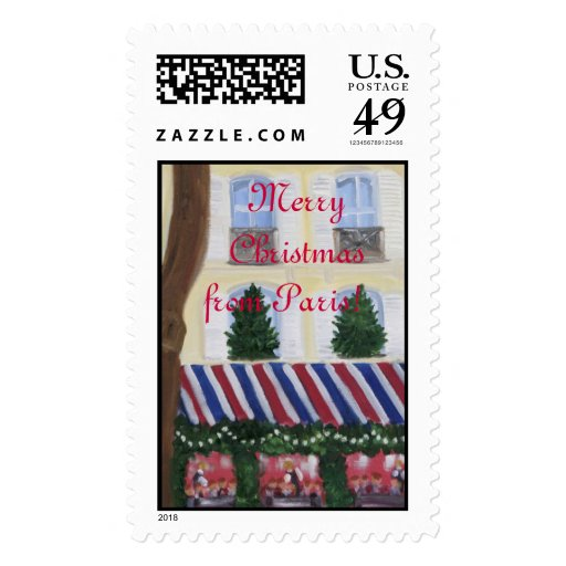 Merry Christmas from Paris Postage